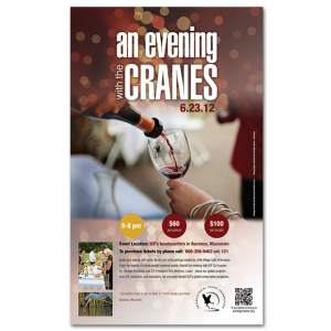 Internation Crane Foundation An Evening Cranes