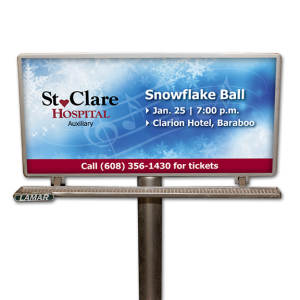 St Clare Snowflake Ball